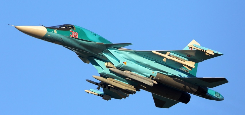A new Russian war jet (not of this variety) is in the skies over Syria