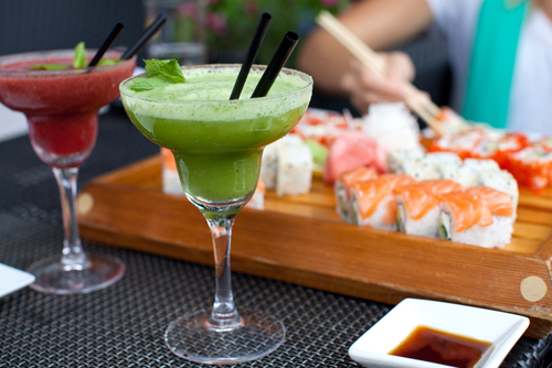 Fuji will feature authentic Japanese cuisine including sushi.