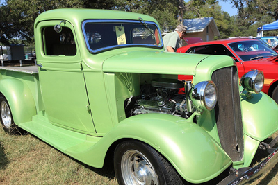 The Rally for Kids features a flood of classic vehicles and some newer models as well.