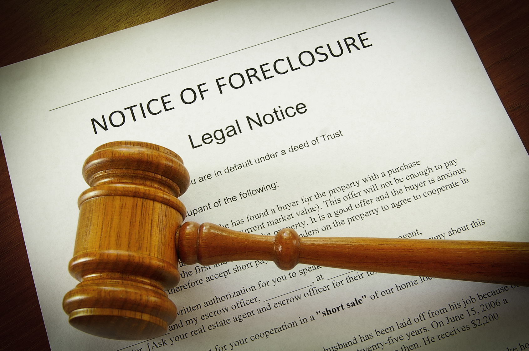 Foreclosurenotice