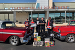 Members of the Central Texas Classic Chevy Club recently invested the club's efforts in the toy drive held by the Leander Police Department.