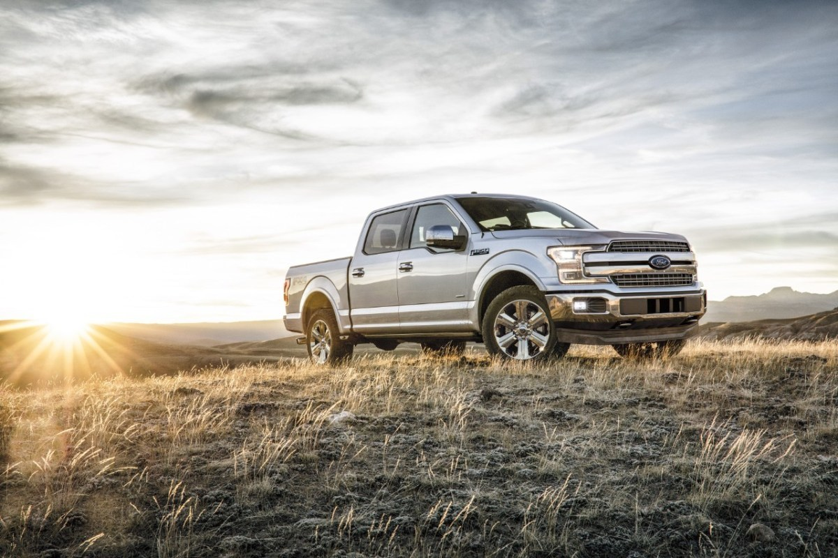 All 2018 F-150s will have new steel bumpers, new grilles and new lighting.