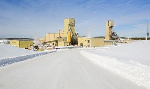 Cigar Lake uranium mining operation