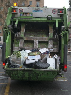 The city manager made a recommendation for residential and commercial waste collection.