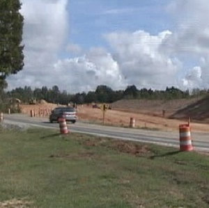 The site of the Fort Mill Southern Bypass project.