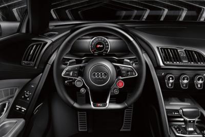 Interior features match the exterior luxury.