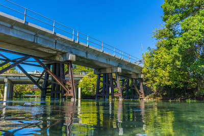 Cool off with a float down the San Marcos River.