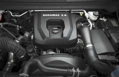 The 2.8-liter four-cylinder is the star of the show with 181 horsepower and a stout 369 pound-feet of torque available to your foot, just above idle speeds.