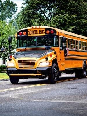 Large schoolbus