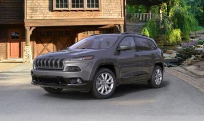 The 2018 Jeep Cherokee features Uconnect with the Alexa virtual assistant.