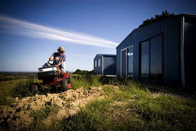 For large lots or acreages, riding mowers can be a necessity.