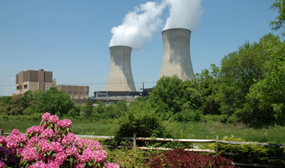 Limerick Nuclear Generating Station in Limerick Township, Pennsylvania.