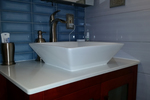 Subway tile makes a great option for remodeling kitchens and bathrooms.