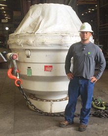 Nic Porta, U.S. Coast Guard Veteran, BP's Subsea Blowout Preventer Reliability Team Member