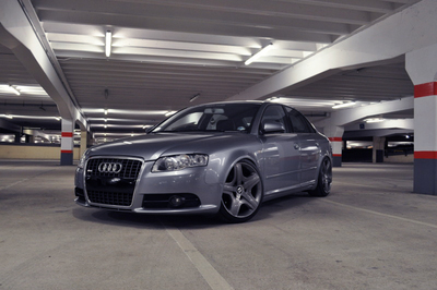 The Audi 4 is the car of choice for the SIlvercar rental service.