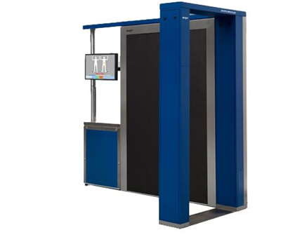 The eqo body scanner from Smiths Detection