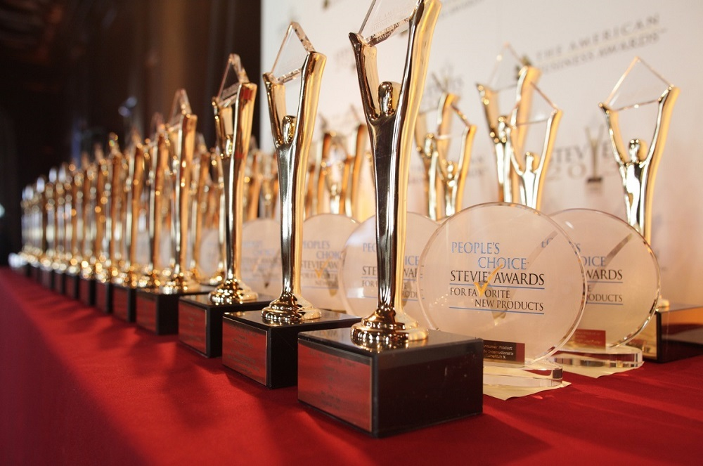 More than 500 companies around the world were nominated this year for the Stevie Awards.
