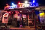 The Mean-Eyed Cat is a Johnny Cash-themed honky-tonk venue.