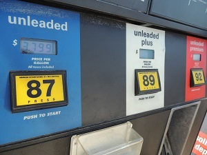 The Motor Fuel Tax is collected by the state through a fee built into the state's gas prices.