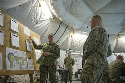 This year's Nuclear Weapon Accident Incident Exercise, or NUWAIX 2015, took place on Naval Base Kitsap-Bangor, located on the Kitsap Peninsula in the state of Washington. The Defense Department whole-of-government exercise was held May 5-8, 2015, and invo