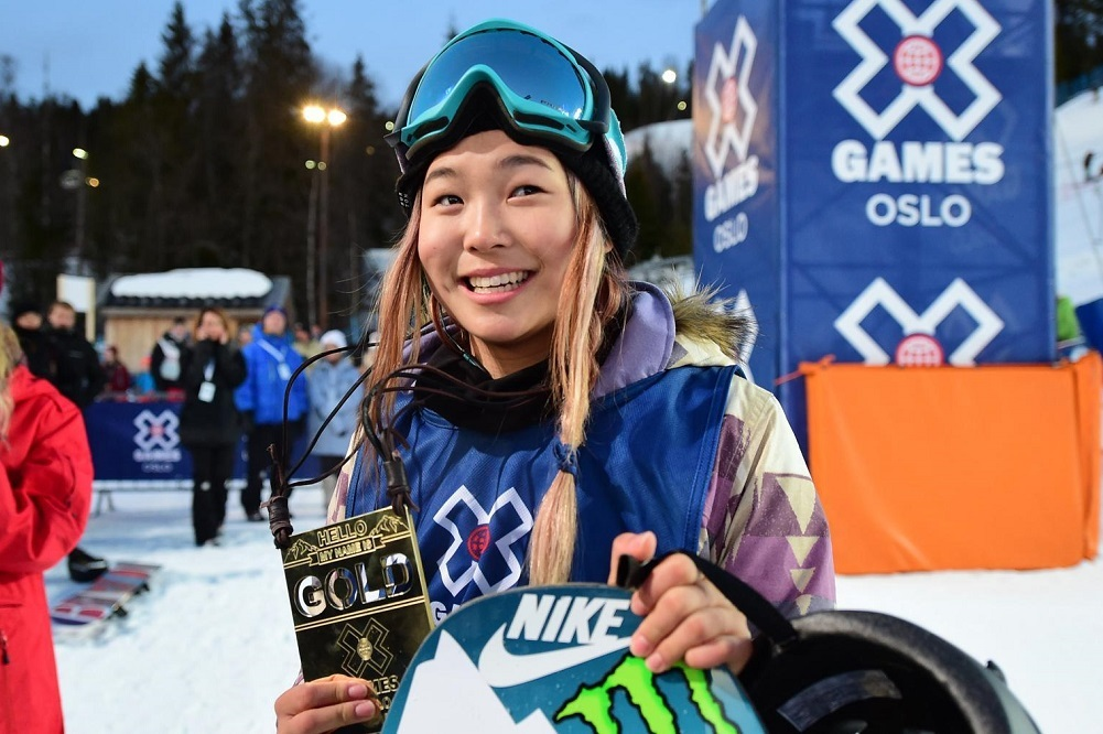 Chloe Kim traveled to Korea as a Sports Envoy for the U.S. State Department.