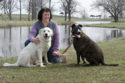 Perry County Humane Society volunteer Amy James
