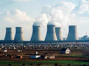 The Rivne Nuclear Power Plant in Kuznetsovsk, Ukraine