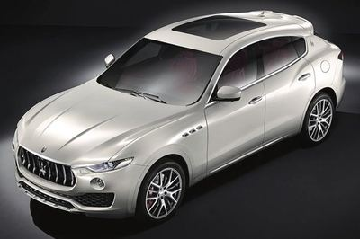 The new Maserati Levante will get a turbocharged 3.8-liter V6 in the 500-horsepower range.
