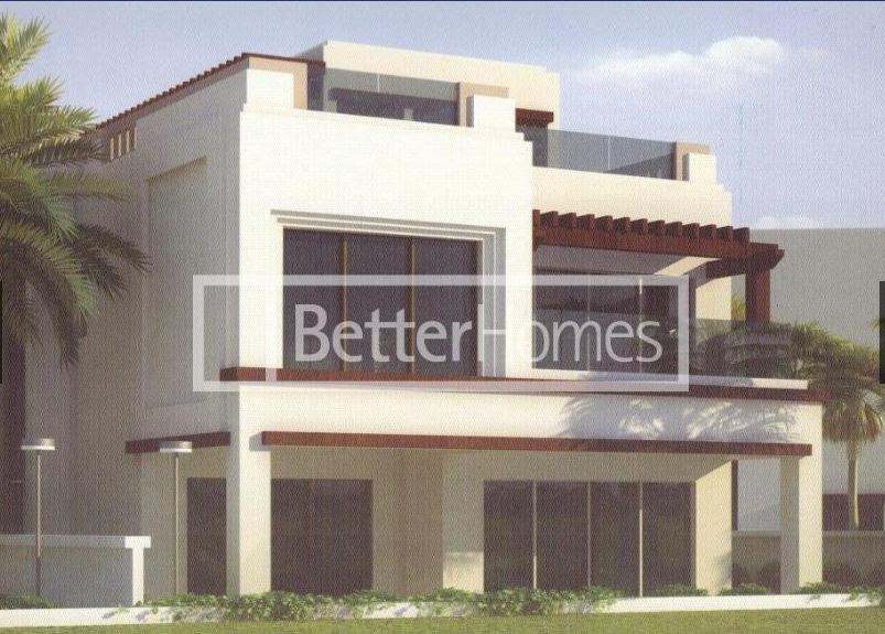 A five bedroom detached villa is now available in the Palm Vista area of Muscat Hills