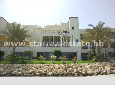 A three story villa is now available on Amwaj Island