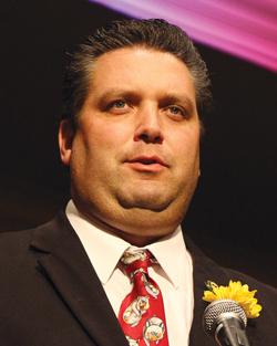 Juniata County farmer Chris Hoffman is the Pennsylvania Farm Bureau's new vice president.