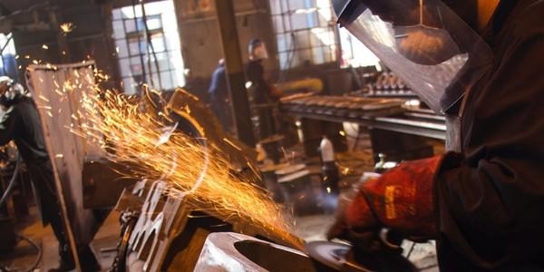 Large factory grinder