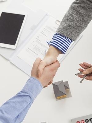 Large agreement handshake