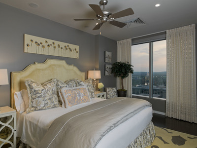Guest rooms in Austin should have a light blanket in addition to a quilt for cooler nights.