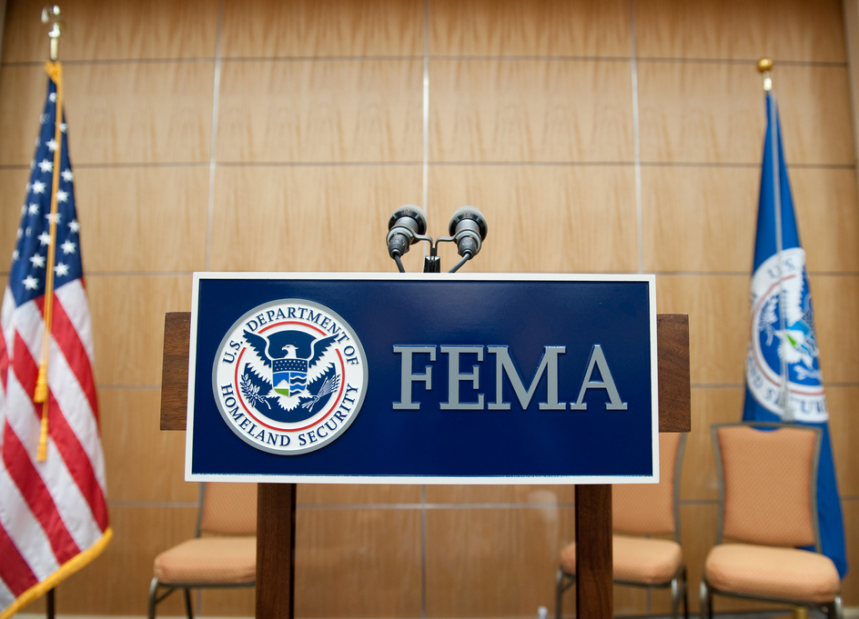 FEMA is looking for an administrative services branch chief in Denton, Texas