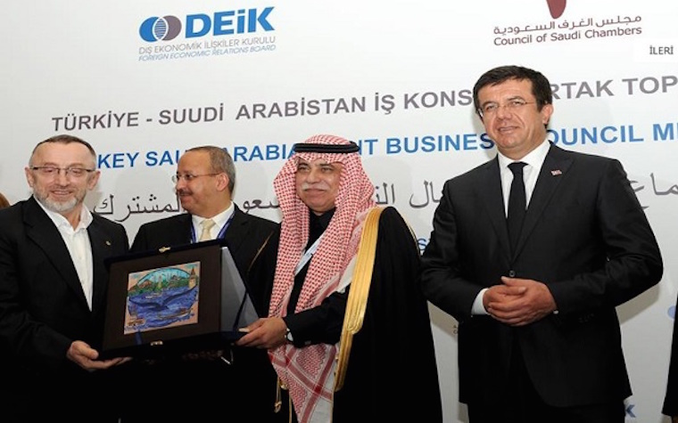 Saudi, Turkish businesses come together in meeting sponsored by Foreign Economic Relations Board of Turkey