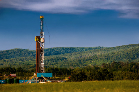 A rig drills for natural gas in Pennsylvania's Marcellus Shale. WPX Energy signed a $300 million deal to sell a portion of its holdings in Pennsylvania. (Photo by Edward DeCroce)