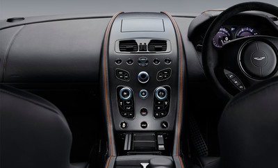 The interior includes the perfect amount of advanced technology.