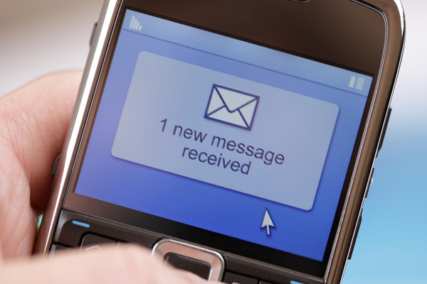 Large text message