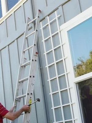 Large ladder house