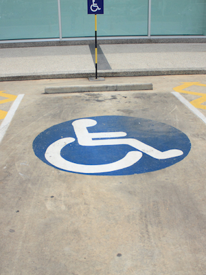 Large disability