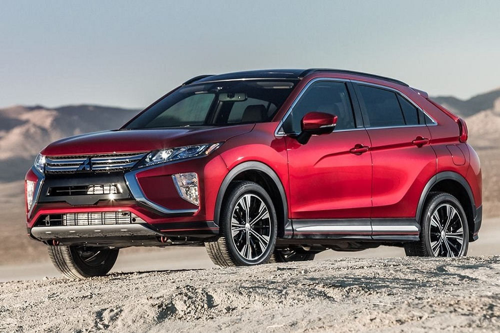 The 2019 Eclipse Cross has available premium leather heated front and rear seats.