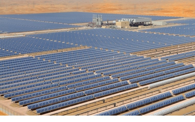 Solar power in the Middle East