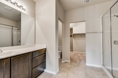 Designs in Cantarra Meadow feature two or two-and-a-half bathrooms.
