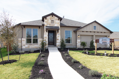 Perry Homes has opened a new model home in Bryson.