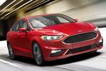 The new Fusion Sport gets the first V-6 in this Fusion platform and it's a good one. The twin-turbo 2.7 is rated at 325 horsepower and 350 pound-feet. It drives all four wheels.