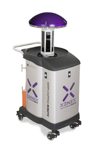 UV disinfecting robot to launch at infection prevention conference in Kenya.