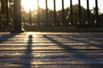 Over time, exposure to sun and rain can damage the wood of a deck if not protected.