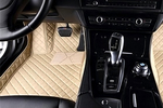 These floor liners adda touch of class to the cabin while also protecting the floorboard carpeting.