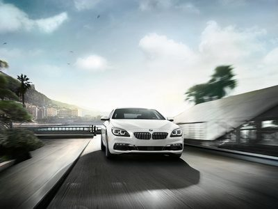 The 650i Gran Coupe's body exudes a sportiness that is balanced by smooth lines.